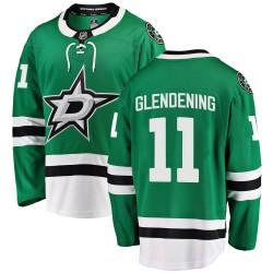Luke Glendening Dallas Stars Youth Fanatics Branded Green Breakaway Home Jersey