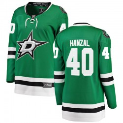 Martin Hanzal Dallas Stars Women's Fanatics Branded Green Breakaway Home Jersey
