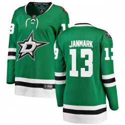 Mattias Janmark Dallas Stars Women's Fanatics Branded Green Breakaway Home Jersey