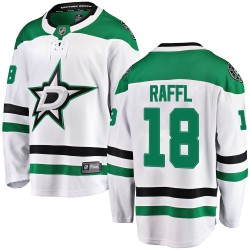 Michael Raffl Dallas Stars Youth Fanatics Branded White Breakaway Away Jersey