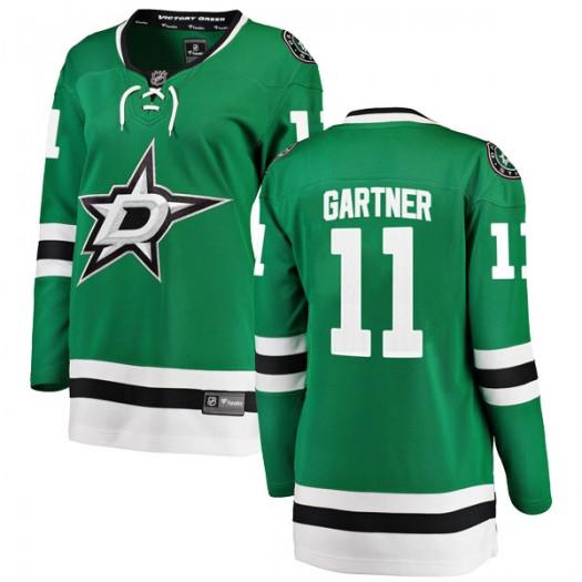 Mike Gartner Dallas Stars Women's Fanatics Branded Green Breakaway Home Jersey