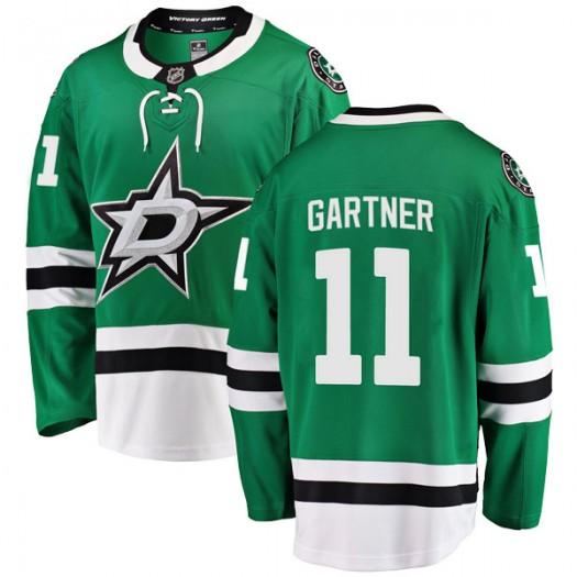 Mike Gartner Dallas Stars Youth Fanatics Branded Green Breakaway Home Jersey