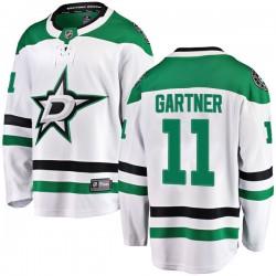 Mike Gartner Dallas Stars Youth Fanatics Branded White Breakaway Away Jersey