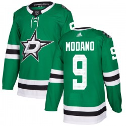 Mike Modano Dallas Stars Men's Adidas Authentic Green Kelly Jersey