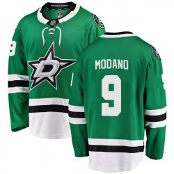 Mike Modano Dallas Stars Men's Fanatics Branded Green Breakaway Home Jersey