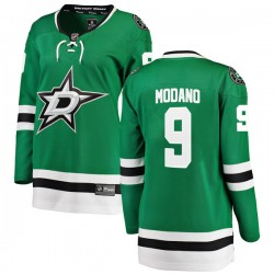 Mike Modano Dallas Stars Women's Fanatics Branded Green Breakaway Home Jersey