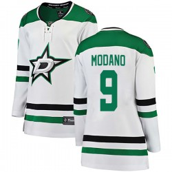 Mike Modano Dallas Stars Women's Fanatics Branded White Breakaway Away Jersey