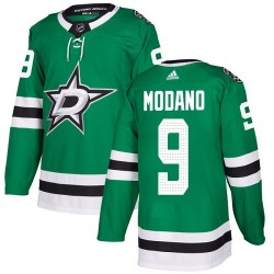 Mike Modano Dallas Stars Youth Adidas Authentic Green Home Jersey