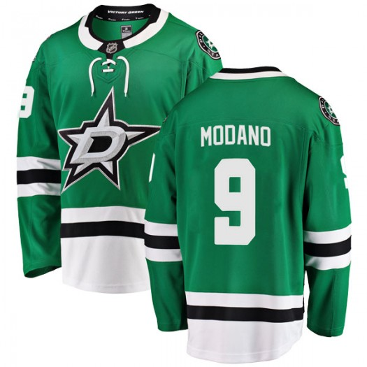 Mike Modano Dallas Stars Youth Fanatics Branded Green Breakaway Home Jersey