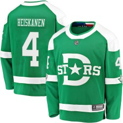 Miro Heiskanen Dallas Stars Men's Fanatics Branded Green 2020 Winter Classic Breakaway Jersey