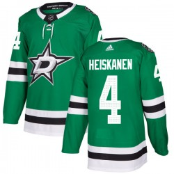 Miro Heiskanen Dallas Stars Youth Adidas Authentic Green Home Jersey