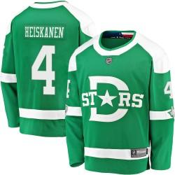 Miro Heiskanen Dallas Stars Youth Fanatics Branded Green 2020 Winter Classic Breakaway Jersey