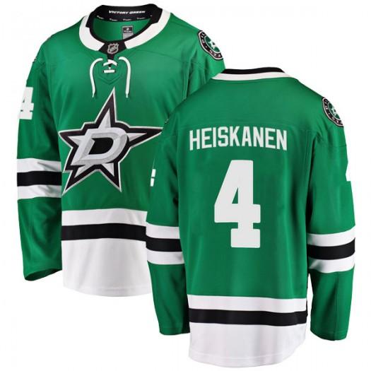 Miro Heiskanen Dallas Stars Youth Fanatics Branded Green Breakaway Home Jersey