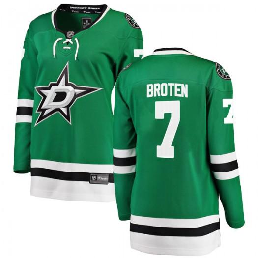 Neal Broten Dallas Stars Women's Fanatics Branded Green Breakaway Home Jersey