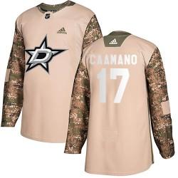 Nick Caamano Dallas Stars Men's Adidas Authentic Camo ized Veterans Day Practice Jersey