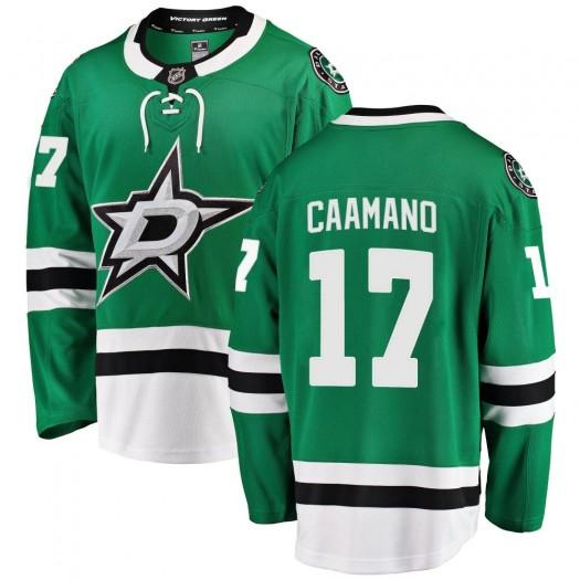 Nick Caamano Dallas Stars Men's Fanatics Branded Green ized Breakaway Home Jersey