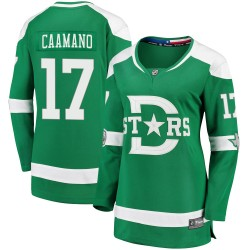 Nick Caamano Dallas Stars Women's Fanatics Branded Green ized 2020 Winter Classic Breakaway Player Jersey