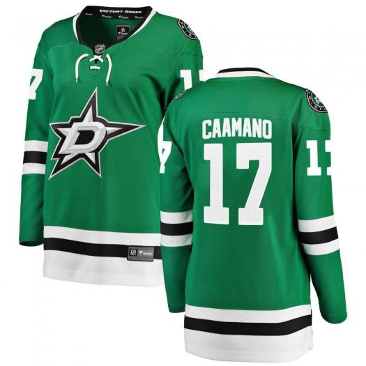 Nick Caamano Dallas Stars Women's Fanatics Branded Green ized Breakaway Home Jersey
