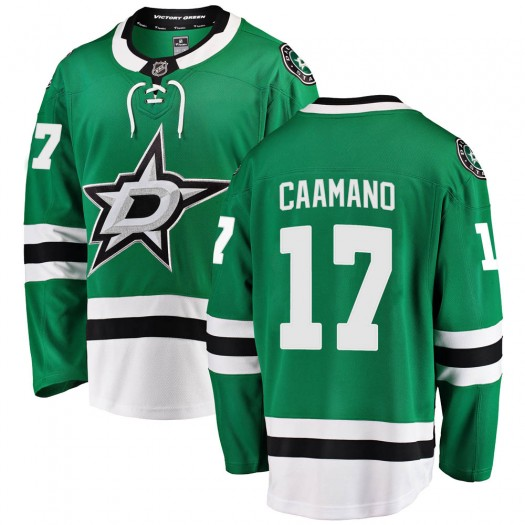Nick Caamano Dallas Stars Youth Fanatics Branded Green Breakaway Home Jersey