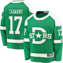 Nick Caamano Dallas Stars Youth Fanatics Branded Green ized 2020 Winter Classic Breakaway Player Jersey