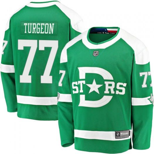 Pierre Turgeon Dallas Stars Men's Fanatics Branded Green 2020 Winter Classic Breakaway Jersey