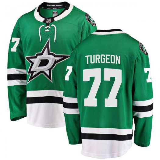 Pierre Turgeon Dallas Stars Men's Fanatics Branded Green Breakaway Home Jersey