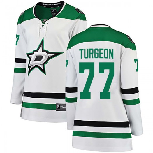 Pierre Turgeon Dallas Stars Women's Fanatics Branded White Breakaway Away Jersey