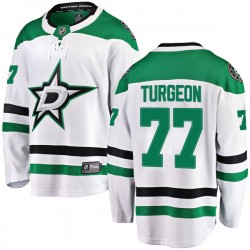 Pierre Turgeon Dallas Stars Youth Fanatics Branded White Breakaway Away Jersey