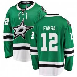 Radek Faksa Dallas Stars Men's Fanatics Branded Green Breakaway Home Jersey