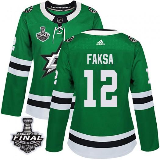 Radek Faksa Dallas Stars Women's Adidas Authentic Green Home 2020 Stanley Cup Final Bound Jersey