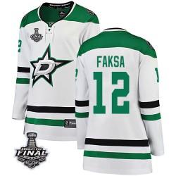 Radek Faksa Dallas Stars Women's Fanatics Branded White Breakaway Away 2020 Stanley Cup Final Bound Jersey
