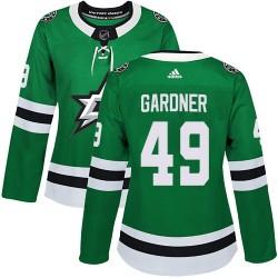 Rhett Gardner Dallas Stars Women's Adidas Authentic Green Home Jersey