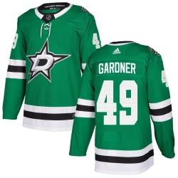Rhett Gardner Dallas Stars Youth Adidas Authentic Green Home Jersey
