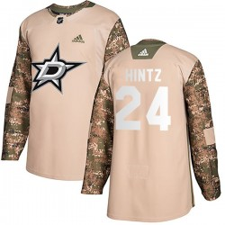 Roope Hintz Dallas Stars Men's Adidas Authentic Camo Veterans Day Practice Jersey