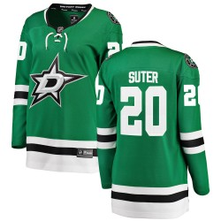Ryan Suter Dallas Stars Women's Fanatics Branded Green Breakaway Home Jersey