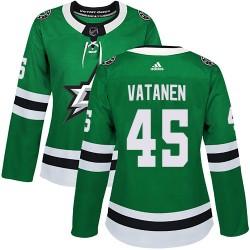 Sami Vatanen Dallas Stars Women's Adidas Authentic Green Home Jersey