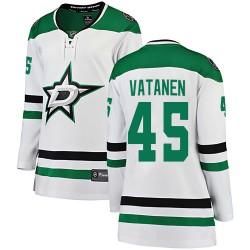 Sami Vatanen Dallas Stars Women's Fanatics Branded White Breakaway Away Jersey
