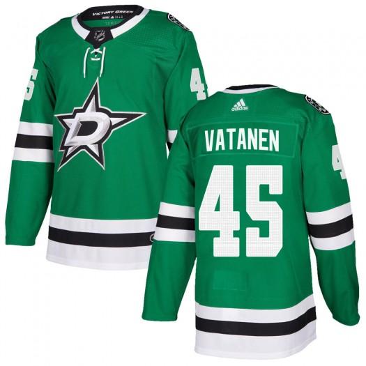 Sami Vatanen Dallas Stars Youth Adidas Authentic Green Home Jersey