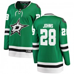 Stephen Johns Dallas Stars Women's Fanatics Branded Green Breakaway Home Jersey