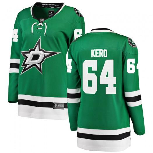 Tanner Kero Dallas Stars Women's Fanatics Branded Green Breakaway Home Jersey
