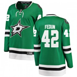 Taylor Fedun Dallas Stars Women's Fanatics Branded Green Breakaway Home Jersey