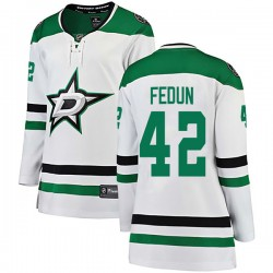 Taylor Fedun Dallas Stars Women's Fanatics Branded White Breakaway Away Jersey