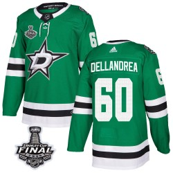 Ty Dellandrea Dallas Stars Men's Adidas Authentic Green Home 2020 Stanley Cup Final Bound Jersey