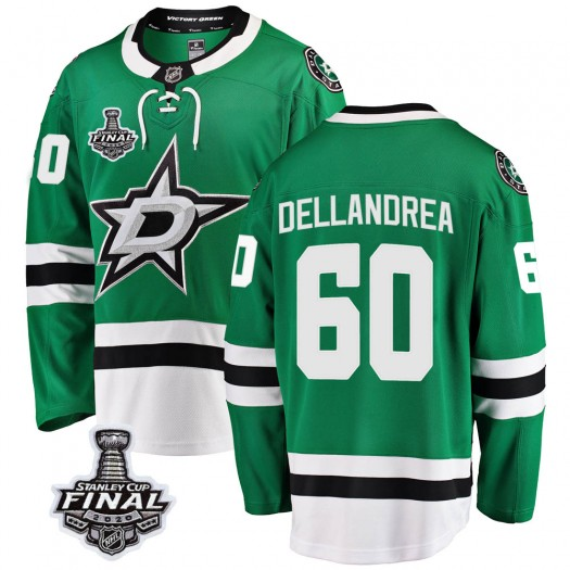 Ty Dellandrea Dallas Stars Men's Fanatics Branded Green Breakaway Home 2020 Stanley Cup Final Bound Jersey