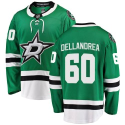 Ty Dellandrea Dallas Stars Men's Fanatics Branded Green ized Breakaway Home Jersey