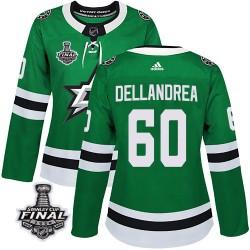Ty Dellandrea Dallas Stars Women's Adidas Authentic Green Home 2020 Stanley Cup Final Bound Jersey
