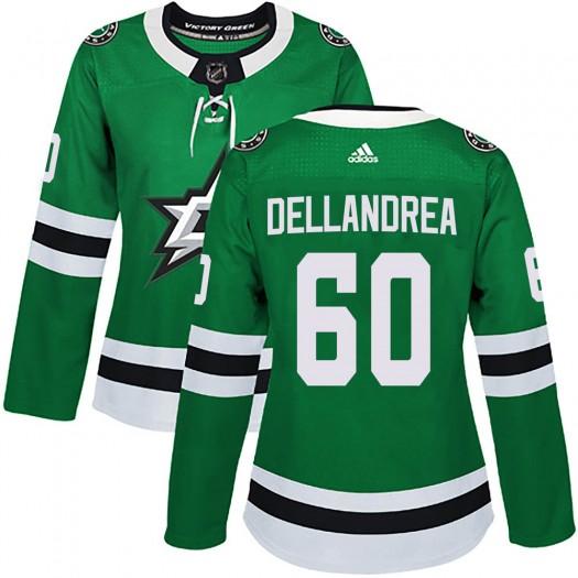 Ty Dellandrea Dallas Stars Women's Adidas Authentic Green ized Home Jersey