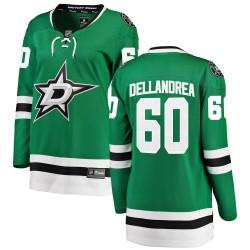 Ty Dellandrea Dallas Stars Women's Fanatics Branded Green ized Breakaway Home Jersey