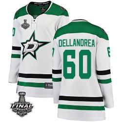 Ty Dellandrea Dallas Stars Women's Fanatics Branded White Breakaway Away 2020 Stanley Cup Final Bound Jersey