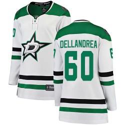 Ty Dellandrea Dallas Stars Women's Fanatics Branded White ized Breakaway Away Jersey